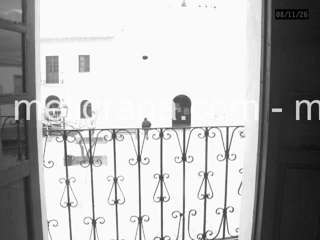 Vista desde el balcón de una habitación