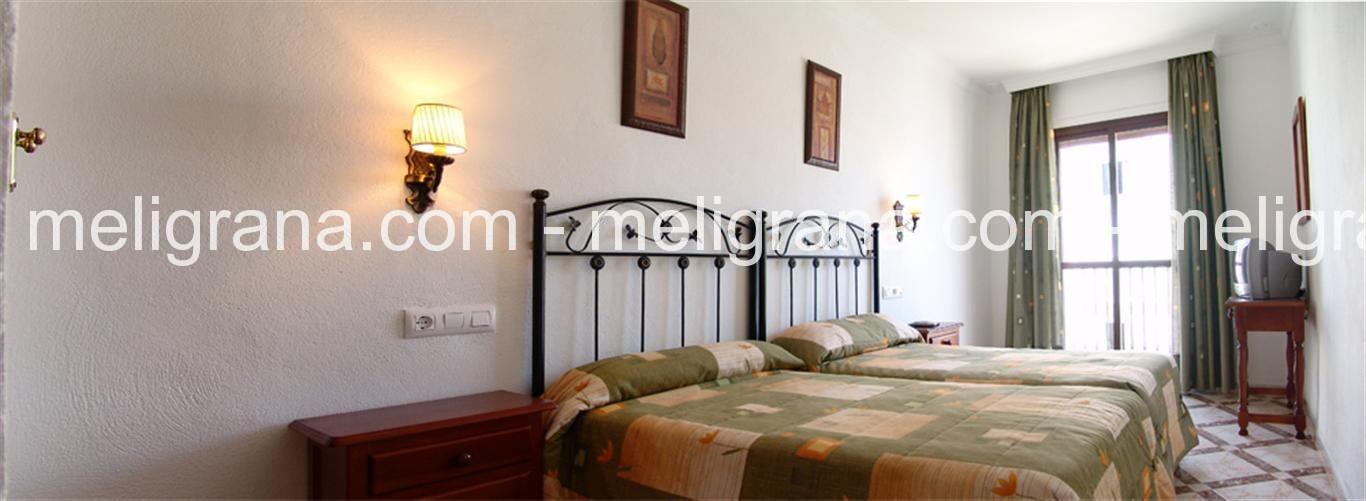 Habitación Doble con dos camas.